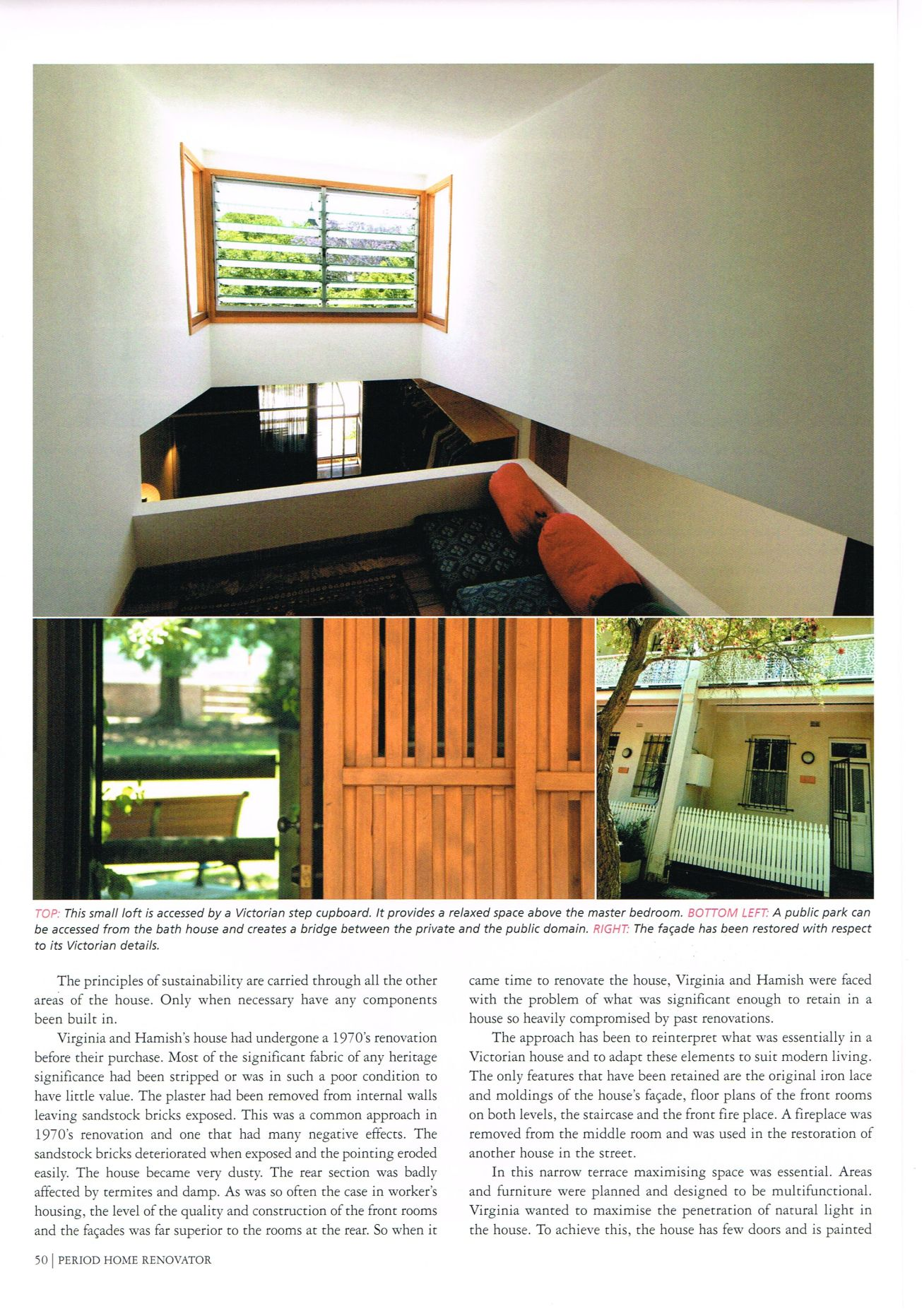 Renovations Magazine: Hegarty House  Feature